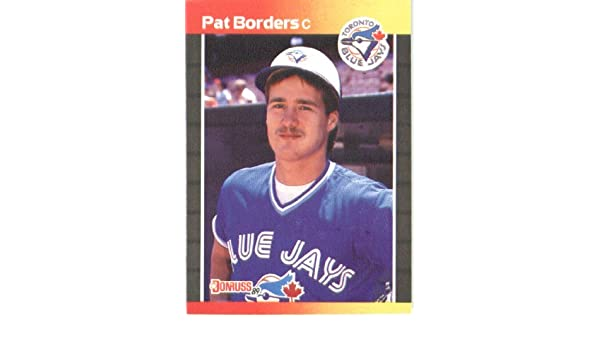 Amazon.com: 1989 Donruss Baseball Card #560 Pat Borders ...