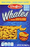 Stauffer's Whales Baked Cheddar Snack Crackers, (2) 7 Oz Boxes