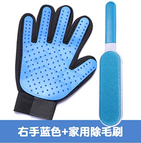 Gato guantes pet gato limpiador de pelo depilación artefacto gato suministros cepillo de pelo para peinar peine peine guantes guantes de pelo 16x23 cm: Amazon.es: Hogar