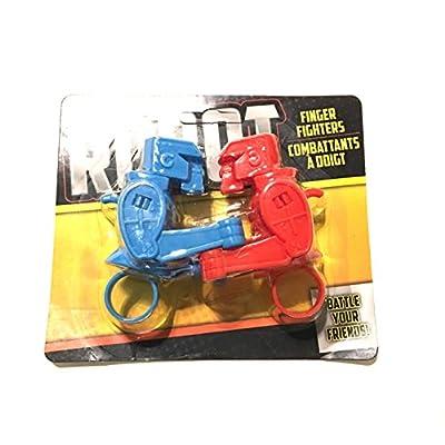 Greenbrier Robot Finger Fighters: Toys & Games