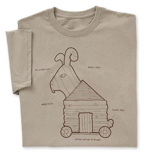 Monty Python Trojan Rabbit T-shirt
