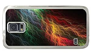 Hipster Samsung Galaxy S5 Case coolest colored lightning vains PC for Samsung S5