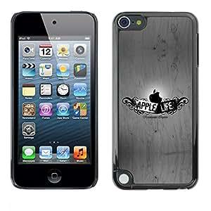 Be Good Phone Accessory // Dura Cáscara cubierta Protectora Caso Carcasa Funda de Protección para Apple iPod Touch 5 // Funny Apple Life