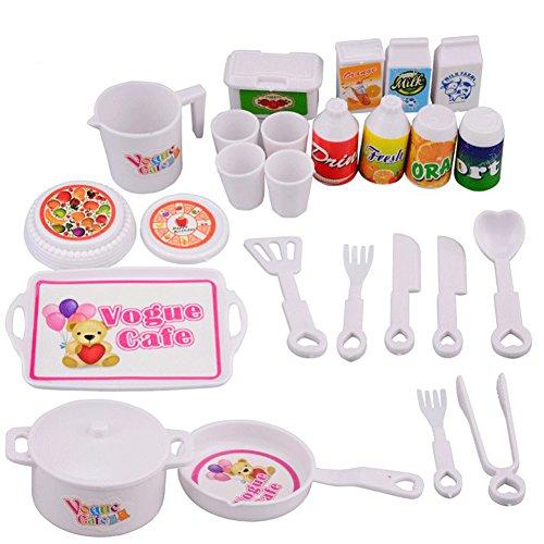 25 Pcs / Set Enfants Jouer Maison Jeu Jouet Mini Simulation Cuisine Outils Éducation Précoce Jouets Ensemble