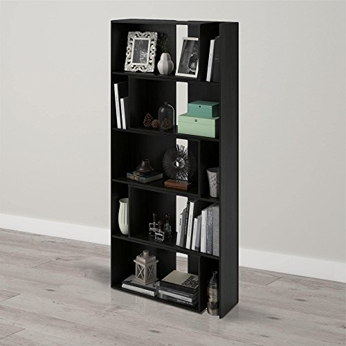 Advantage 5 Shelf Bookcase - 7