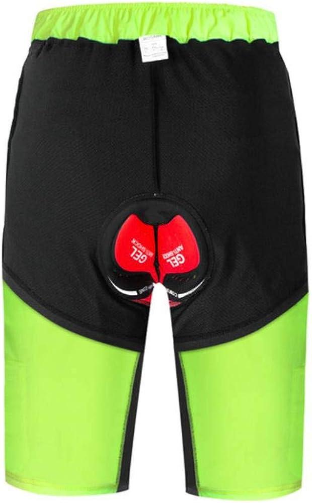 Pantalones Cortos De Ciclismo para Hombre con Acolchado De