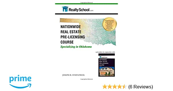 Nationwide Real Estate Pre Licensing Course Specializing In