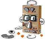 Makedo Box Props Faces People Building Kit