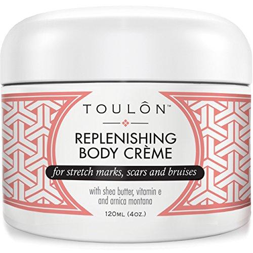 Bruise Cream with Arnica Montana, Shea Butter & Vitamin E: Repair Bruises, Stretch Marks Cream & Scars: 4 oz. For Women and Men