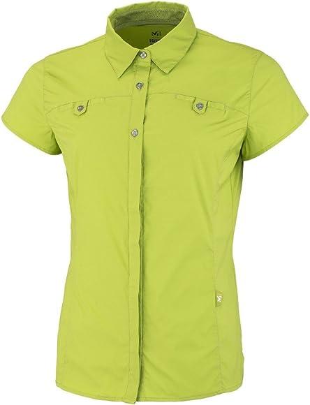 Millet Ld Back Country – Camisa para mujer, color Linden Green, tamaño medium: Amazon.es: Deportes y aire libre