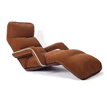 Amazon.de: Klappboden Sofa Stuhl Verstellbare Faule Lounge Bett ...