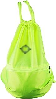 Black Temptation Basket Foot Volley Formation Pocket Bag Outdoor Sport Organizer Sac à Dos-Vert