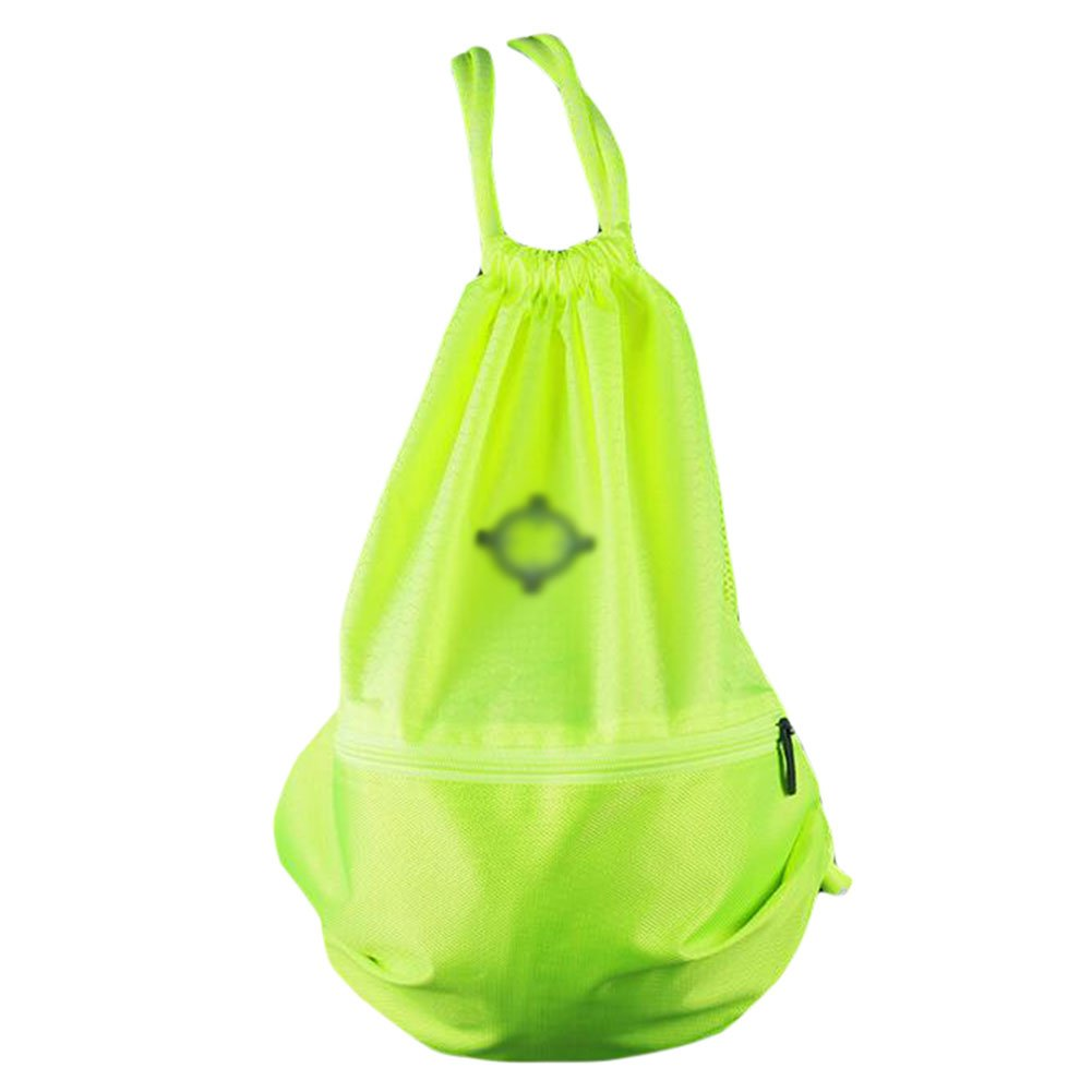 George Jimmy Basketball Soccer Volleyball Pocket Training Bag Outdoor Sport Organizer Backpack-Green