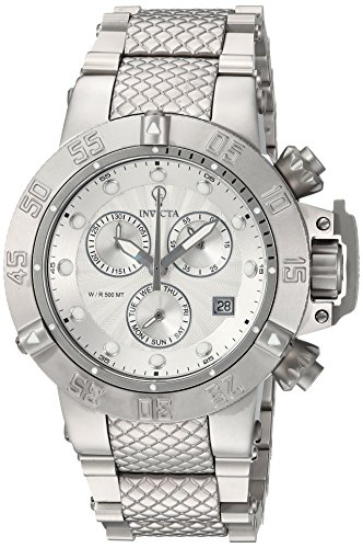 Invicta Women's 'Gabrielle Union' Quartz Stainless Steel Casual Watch, Color:Silver-Toned (Model: 23175)
