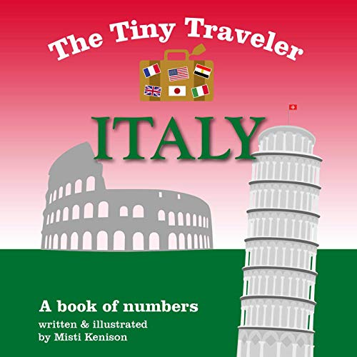 The Tiny Traveler: Italy: A Book of Numbers (Baby Shampoo Italy)