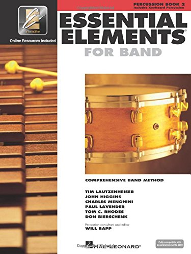 Essential Elements 2000 Percussion Book - Essential Elements 2000 - Book 2: Percussion/Keyboard Percussion (Percussion, Book 2) with EEI