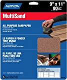Norton Co. 47740 Norton 7660704153 General Purpose MultiSand Sheet, 11 in X 9 in, 80 Grit, quot