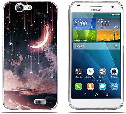 DIKAS Funda para Huawei Ascend G7 (L01 L03 C199) Carcasa de ...