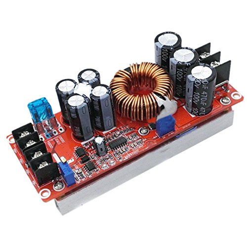 SODIAL(R) 1200W 20A DC Converter Boost Car Step-up Power Supply Module 8-60V to 12-83V