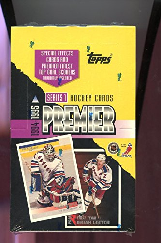 1994-95-topps-premier-hockey-wax-pack-box-series-1-one-special-effects-set-1995