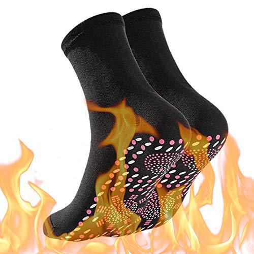 Sulens Zelfverwarmende sokken, thermische sokken voor unisex winter magnetische therapie sokken, warme zachte…