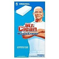 Mr. Clean Magic Eraser Multi-Surface Cleaner, Original, 4 Count