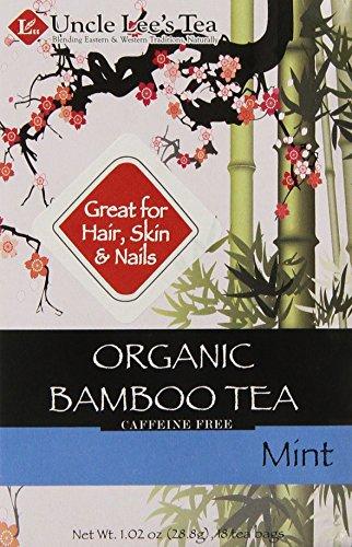 Uncle Lee's Tea Organic Tea, Bamboo Mint, 18 Count