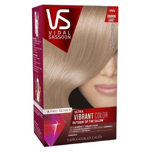 Vidal Sassoon Pro Series Permanent Hair Color, 9WV Mulberry Street Blonde (Pack ()