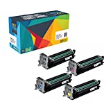 Do it Wiser Remanufactured Imaging Drum Units for Konica Minolta Magicolor 4650 4650EN 4650DN 4690MF 4695MF 4-Pack