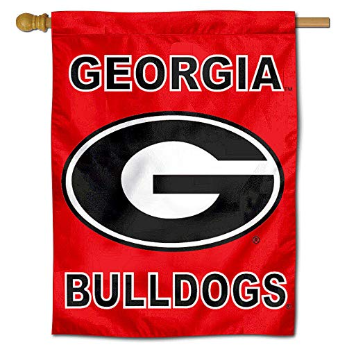 College Flags and Banners Co. University of Georgia Banner House Flag - Banner Flag University House