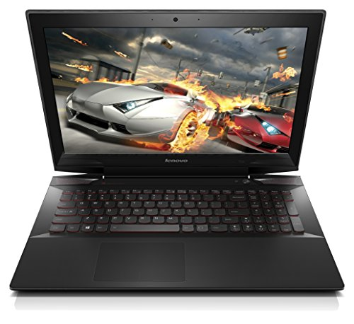 "Lenovo Y50 59442856 Gaming Laptop (Windows 8, Intel Core i7-4720HQ, 15.6"" LED-lit Screen, Storage: 1 TB, RAM: 8 GB) Black"