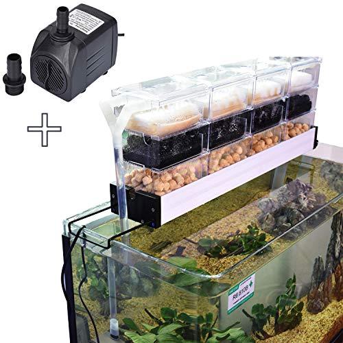 AE SHOP Aquarium Canister Fish Tank Filter Cartridge for 1.8-2.2 Feet Tank, - Aquarium Gallon Filter 1/2