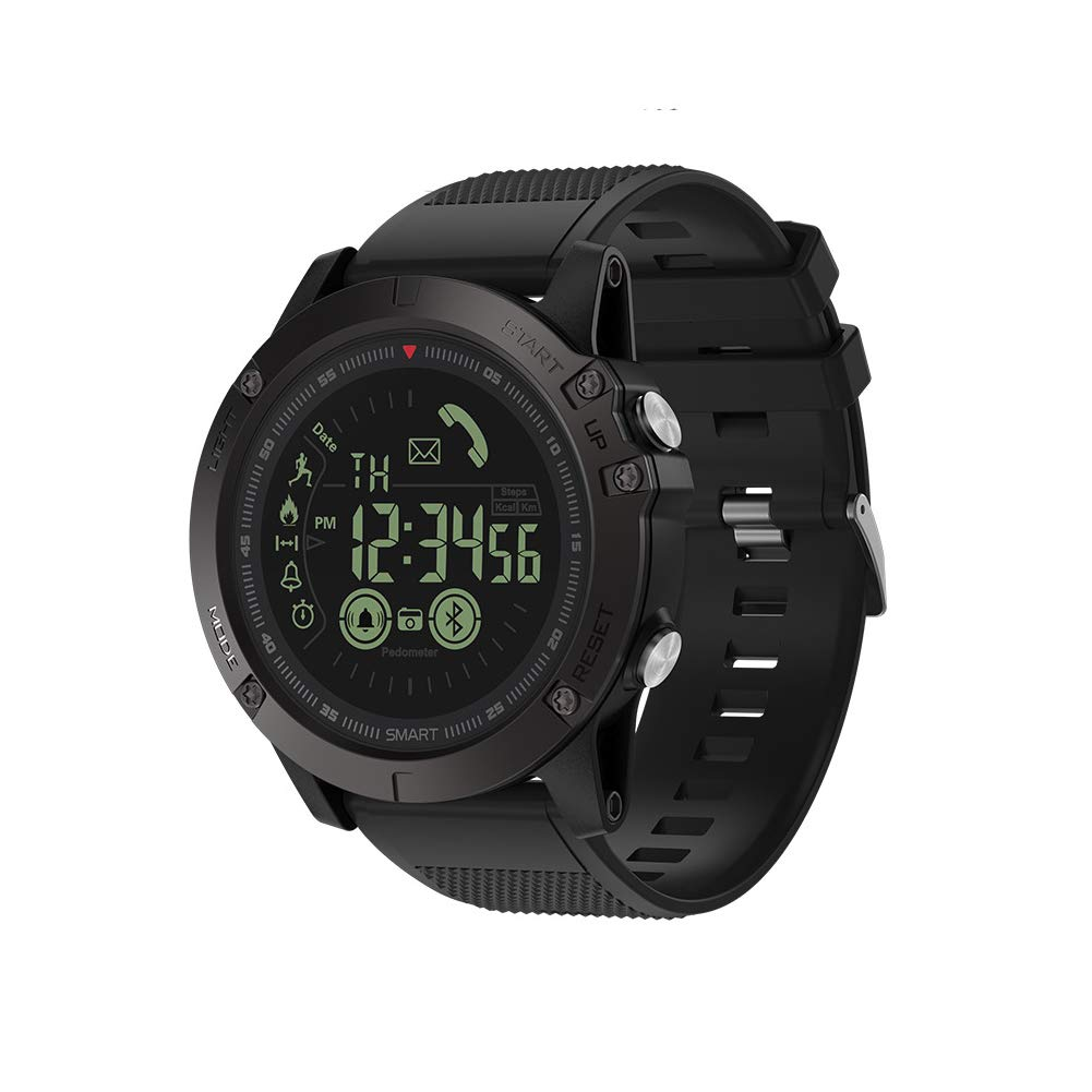 SPORS Heart Rate Blood Pressure Blood Sample Detection Watch, Sports Step Waterproof Watch, Multi-Function Bluetooth Smart Earphone Watch-1 by SPORS