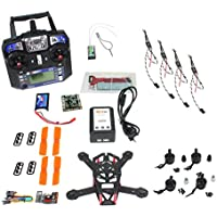 QWinOut DIY H150 2.4G 6CH RC Racing Drone Mini Quadcopter ARF Unassembly Full Combo Set with QQ Super Multi-rotor Flight Controller