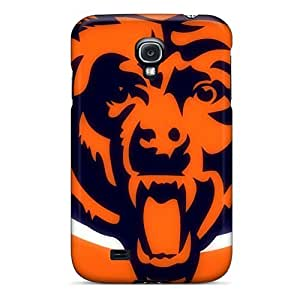 MansourMurray Samsung Galaxy S4 Durable Cell-phone Hard Covers Unique Design Trendy Chicago Bears Skin [cNw14827Tqrb]