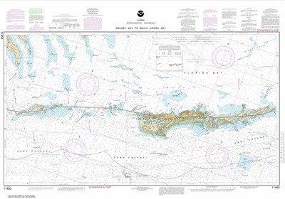 Synthetic Media NOAA Chart 11453: Florida Keys Grassy Key to Bahia Honda (Florida Keys Water)