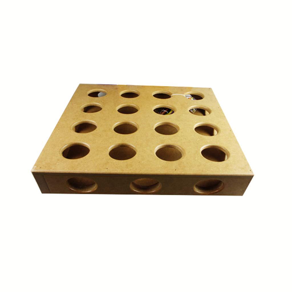 37377cm Pet Toy Cat Toy Pet Cat Intelligence Toy Box 9 Holes  16 Holes Pet Supplies (Size   37  37  7cm)