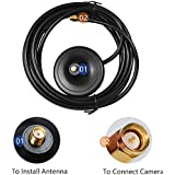 Extension Cable with Female End of 10dB Antenna of Camera of SMONET WIFI NVR KITS, Female End, NO Pin
