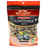 Kleins Natural's Dry Roasted Salted Sunflower Seeds, Israeli Sunflower Seeds, Unhulled Sunflower Seeds, Quick Healthy Snacks, 5-Ounce (Pack of 6)