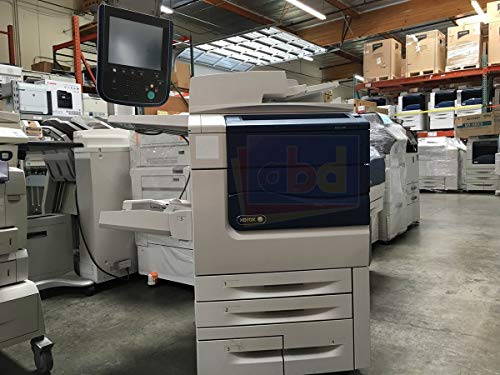 (Xerox Color 550 Digital Laser Production Printer/Copier - 55ppm, Copy, Print, Scan, 2 Trays, Tandem Tray, Bypass Tray, 497K02420 Offset Catch Tray, XYY Integrated Color Server)