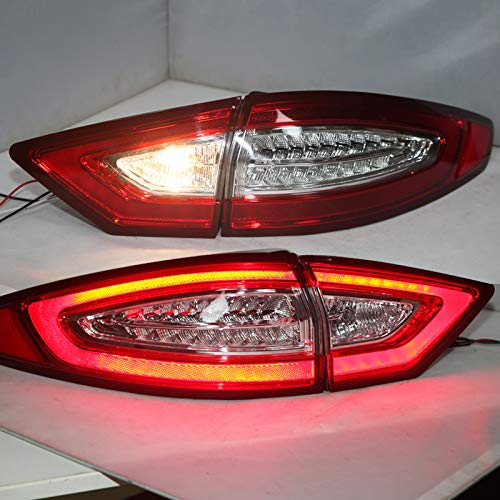 (Generic for FORD Fusion Titanium Mondeo LED strip Taillights 2014 year)