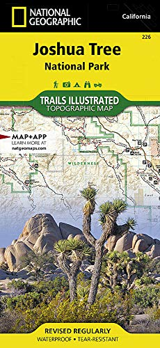Map: Joshua Tree National Park (National Geographic Trails Illustrated Map)