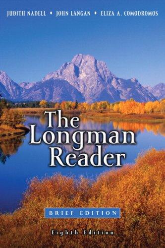 Download The Longman Reader Brief 8th Edition Book Pdf Audio Id