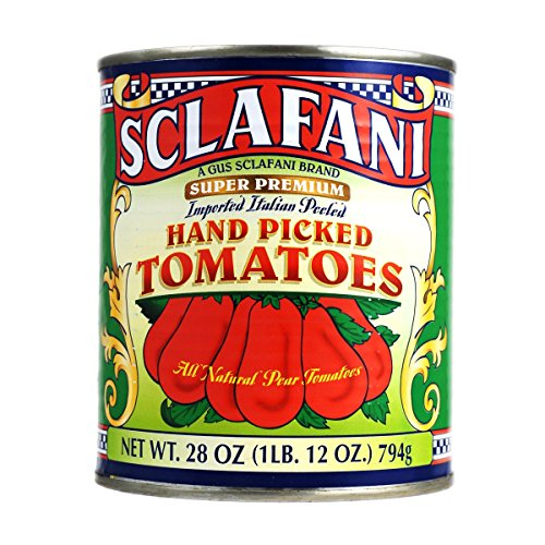 Best Tomato Flavor (Hand Picked Whole Peeled Plum Tomatoes in 28 Ounce Cans (4 Pack))