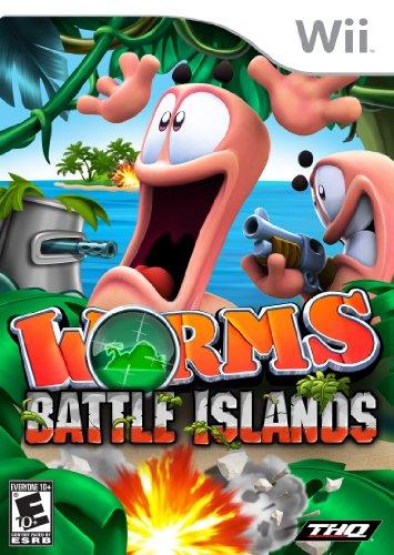Worms Battle Island Nintendo Wii product image