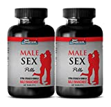 sex drive booster for men - MALE SEX PILLS - EXTRA STRENGTH FORMULA - MALE ENHANCEMENT - maca extract powder - 2 Bottles (120 Tablets)