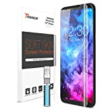 Galaxy S8 Screen Protector, Trianium Soft Skin [2 Pack] [Case Friendly] Samsung Galaxy S8 Screen Protector Flexible TPU film with Spray & Squeegee for Samsung Galaxy S8 5.8