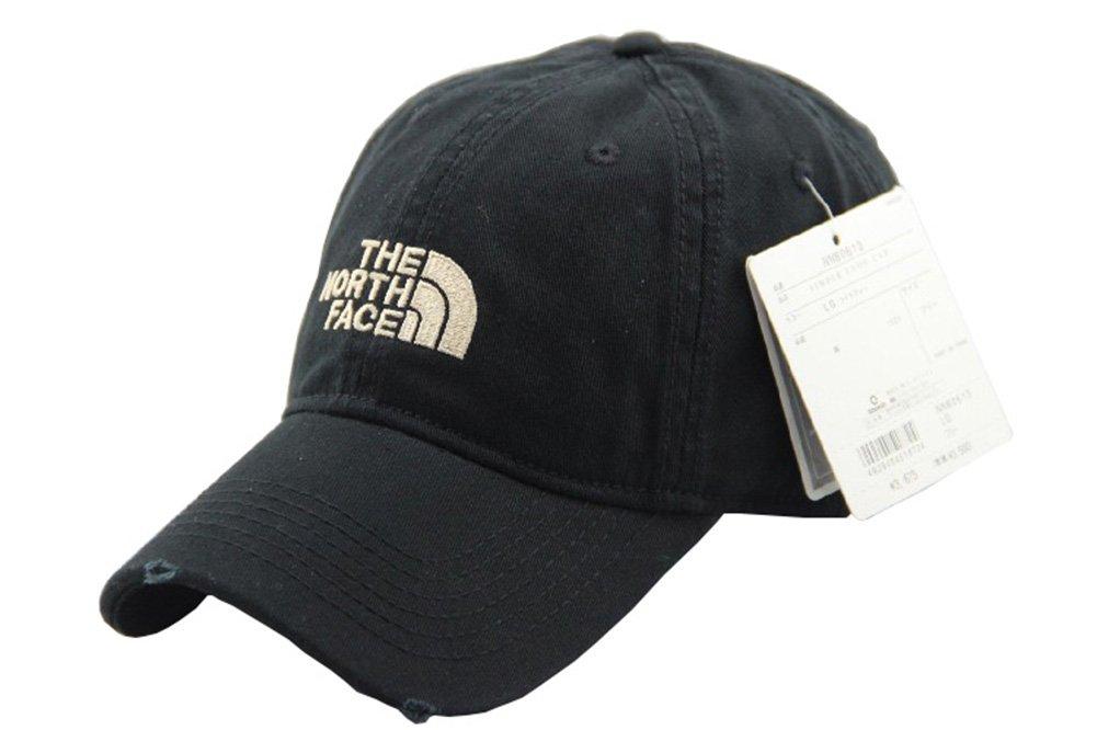 TNF Unisex Adjustable Horizon Classic Cap | Baseball Hat Baseball Cap | Dad Hat (Black)