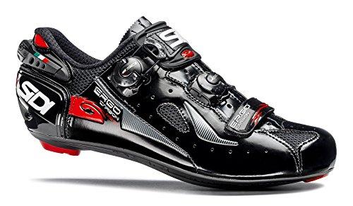- Sidi Ergo 4 Mega Carbon Road Cycling Shoes - Black/Black (41.5 EUR [US 8])