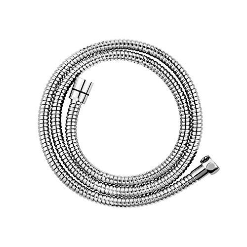 CLOFY Shower Hose 1.5m Stainless Steel Hose G 1/2 10 Years Guarantee Chrome